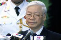 Hàng chục nghìn người đưa tiễn nguyên Thủ tướng Phan Văn Khải